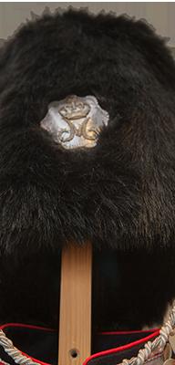 Livgarder - Bjørneskindshue